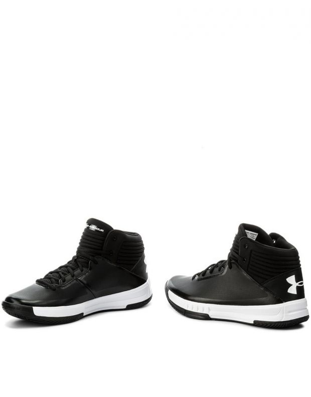 UNDER ARMOUR Lockdown 2 Shoes Black - 4
