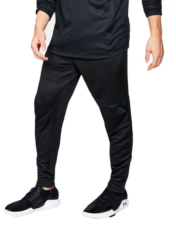 UNDER ARMOUR MK-1 Terry Tapered Pants Black - 1
