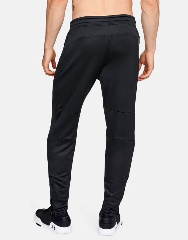 UNDER ARMOUR MK-1 Terry Tapered Pants Black - 2