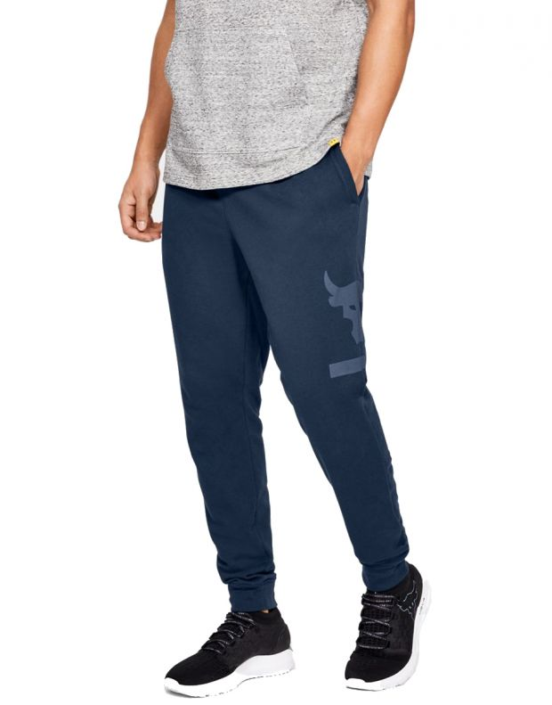 UNDER ARMOUR Project Rock Terry Joggers Navy - 1