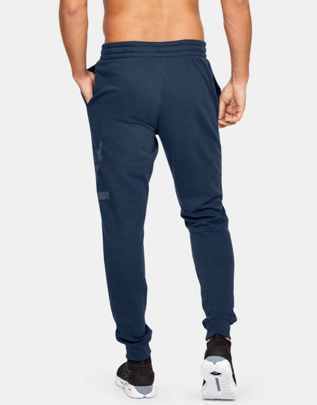 UNDER ARMOUR Project Rock Terry Joggers Navy - 2