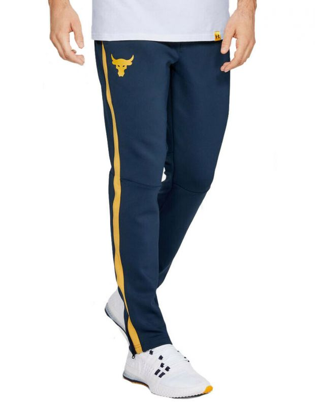 UNDER ARMOUR Project Rock Track Pant Navy - 1