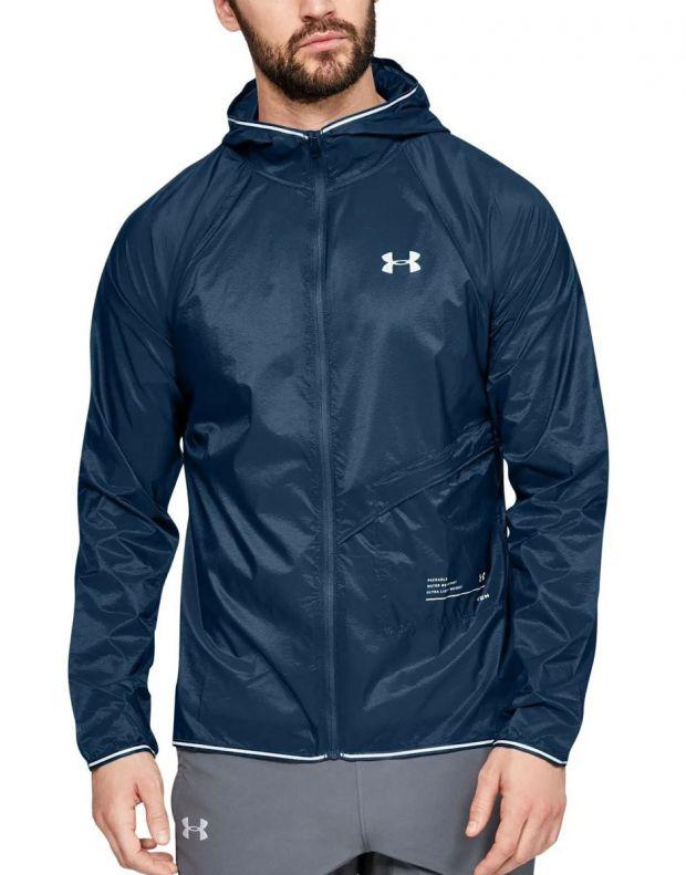 UNDER ARMOUR Qualifier Storm Packable Jacket Blue - 1326597-437 - 1