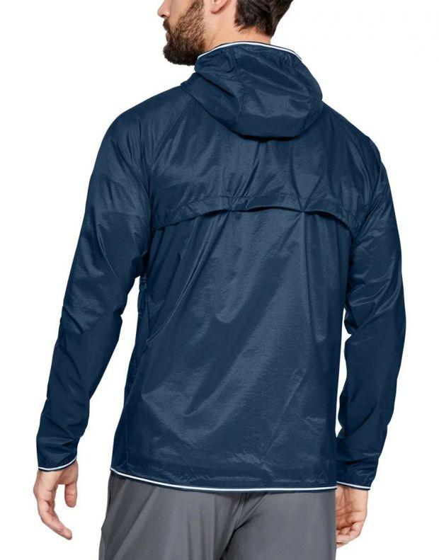 UNDER ARMOUR Qualifier Storm Packable Jacket Blue - 1326597-437 - 2