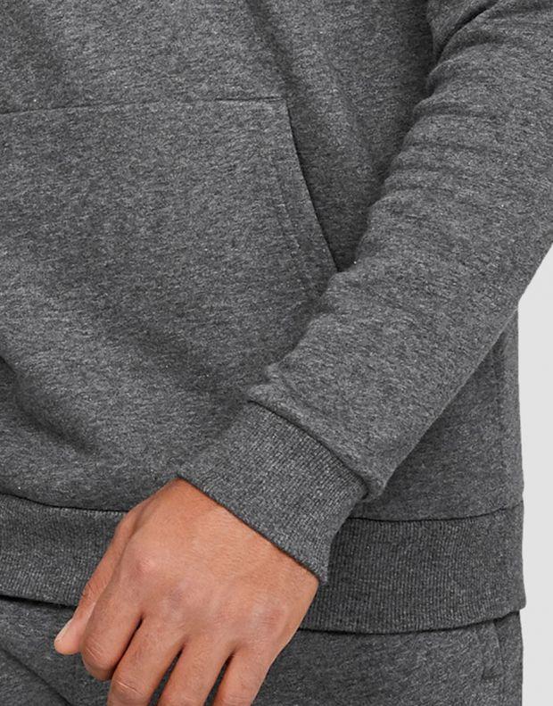 UNDER ARMOUR Rival Fleece Hoodie Grey - 4