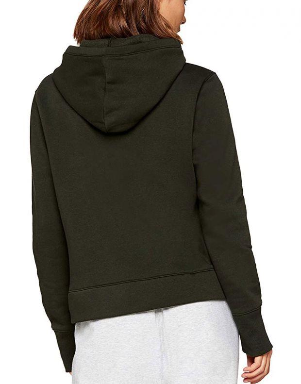 UNDER ARMOUR Rival Fleece Logo Hoodie Green - 1321185-357 - 2