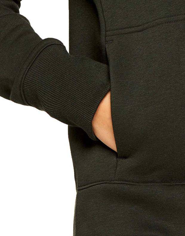 UNDER ARMOUR Rival Fleece Logo Hoodie Green - 1321185-357 - 4