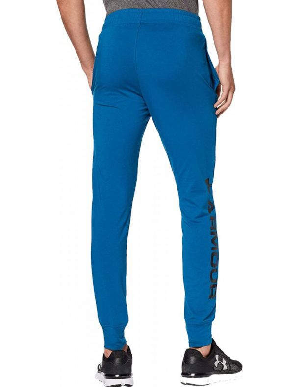 UNDER ARMOUR Sportstyle Graphic Mens Joggers Blue - 1329298-417 - 2