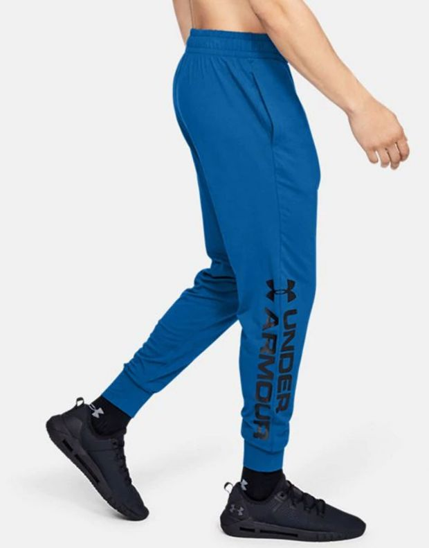 UNDER ARMOUR Sportstyle Graphic Mens Joggers Blue - 1329298-417 - 3