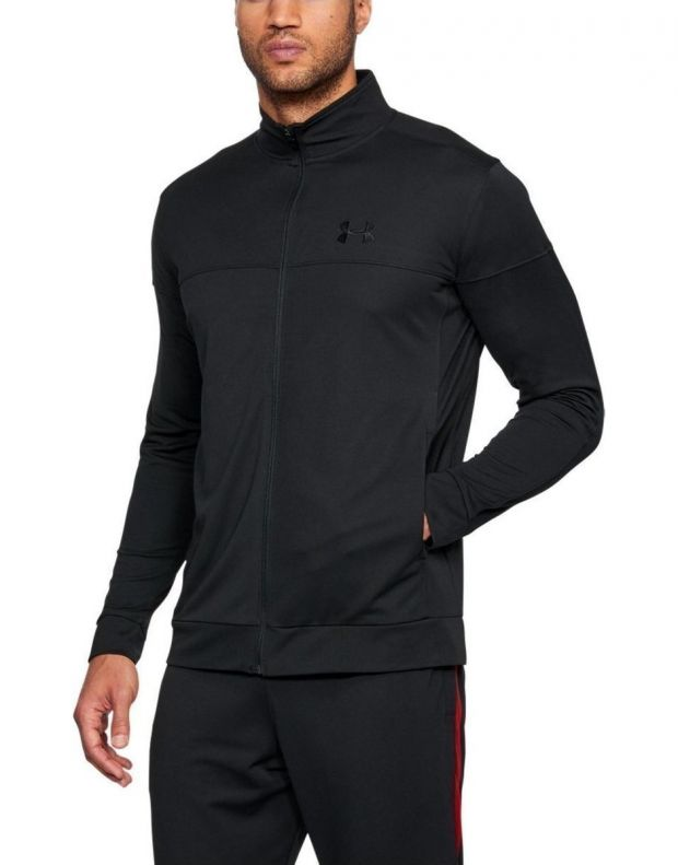 UNDER ARMOUR Sportstyle Pique All Black - 1313204-001 - 1