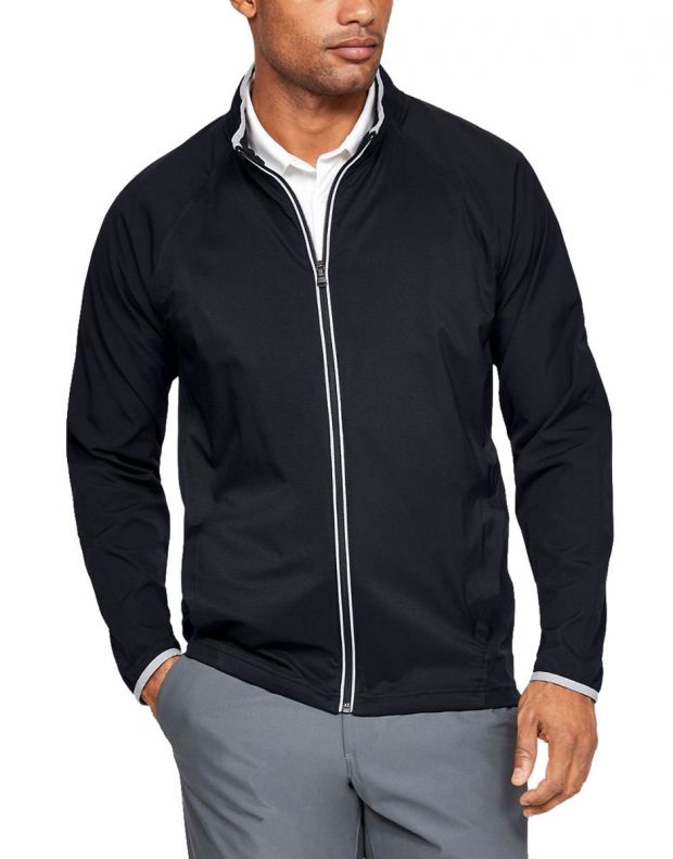 UNDER ARMOUR Storm Windstrike Full Zip Jacket Black - 1327013-001 - 1