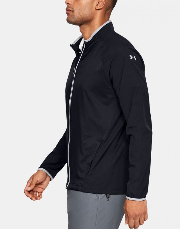 UNDER ARMOUR Storm Windstrike Full Zip Jacket Black - 1327013-001 - 3