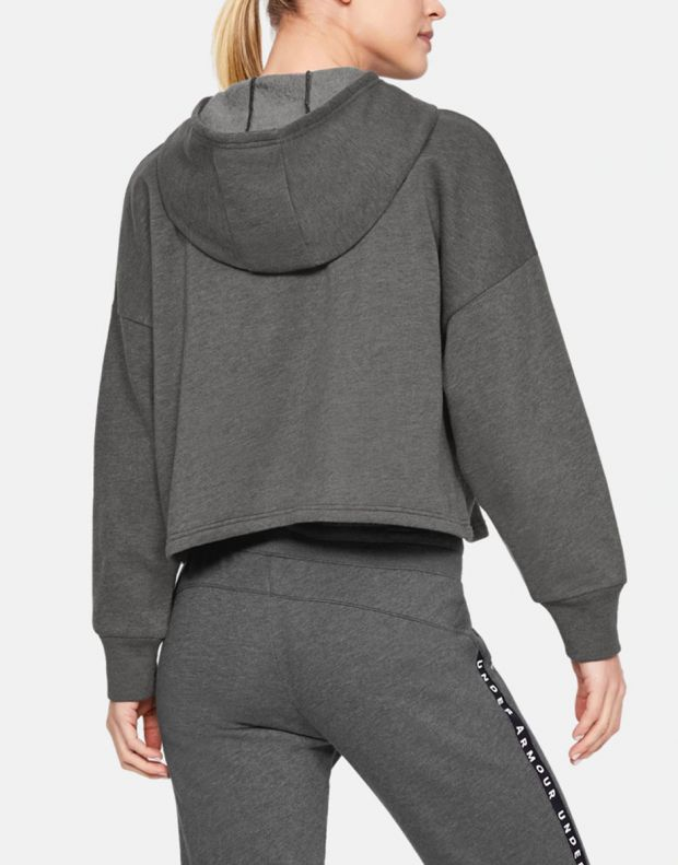 UNDER ARMOUR Taped Fleece Hoodie Grey - 1328947-001 - 2