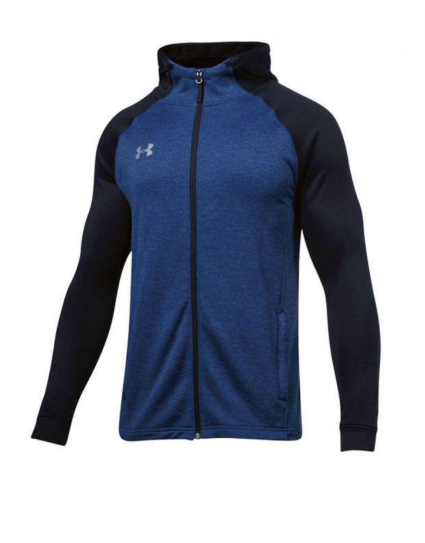 UNDER ARMOUR UA Tech Terry Fitted Navy - 1