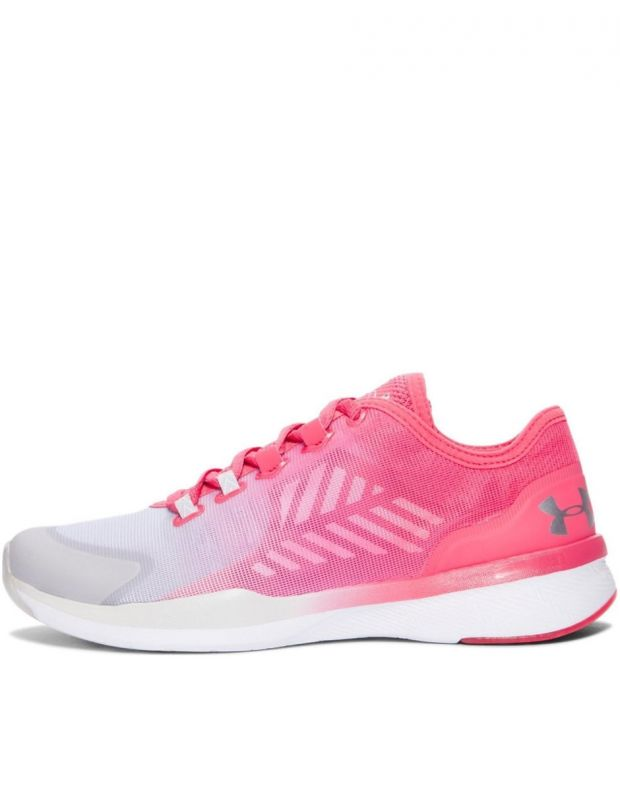 UNDER ARMOUR W Charged Push Traning Pink - 1
