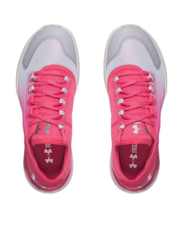 UNDER ARMOUR W Charged Push Traning Pink - 4