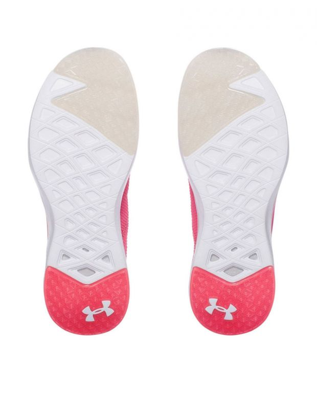 UNDER ARMOUR W Charged Push Traning Pink - 5