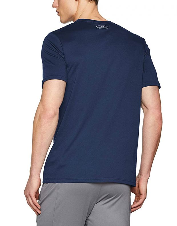 UNDER ARMOUR Boxed Sportstyle Tee Navy  - 2