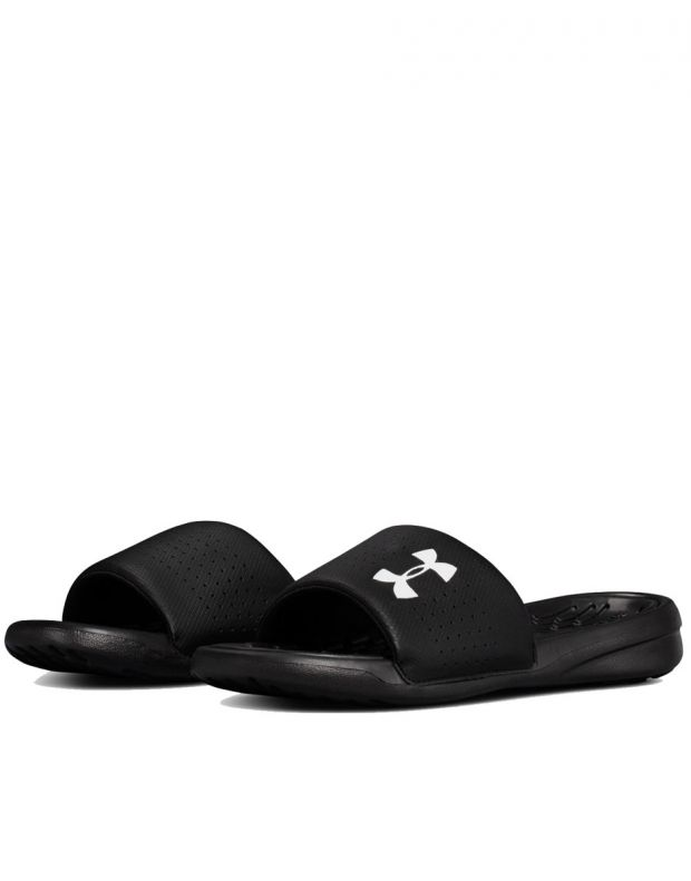 UNDER ARMOUR Playmaker Fixed Strap Slides Black - 4