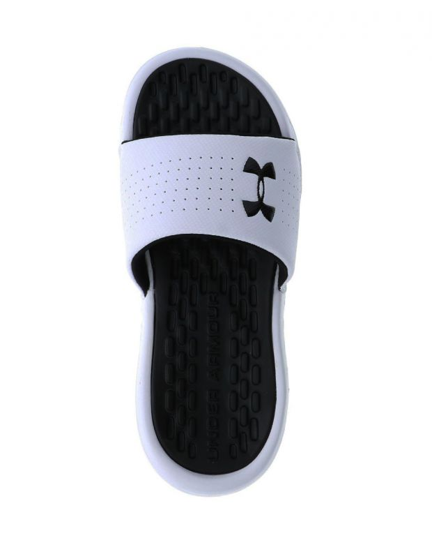 UNDER ARMOUR Playmaker Fixed Strap Slides White - 3