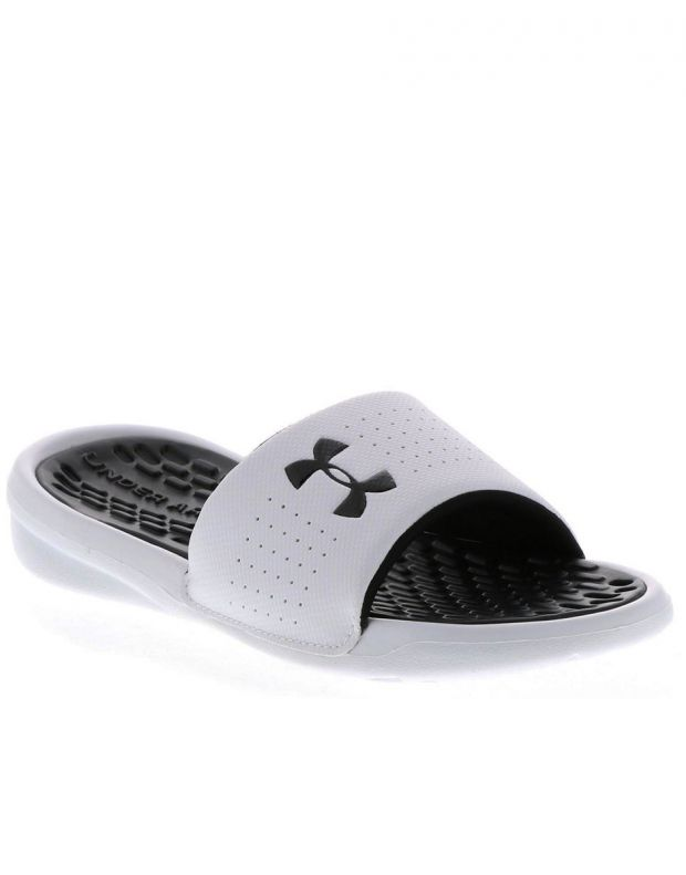 UNDER ARMOUR Playmaker Fixed Strap Slides White - 4