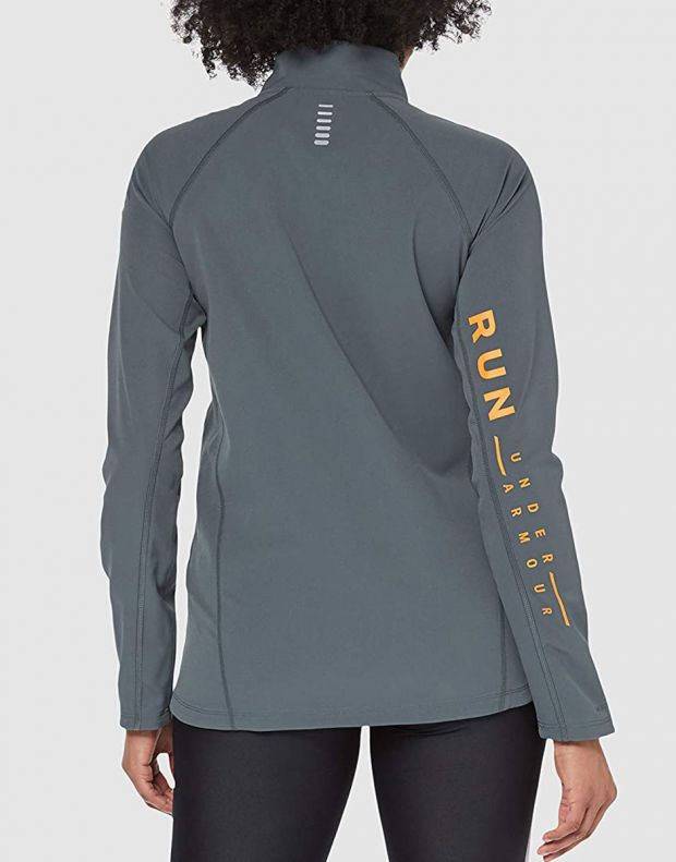 UNDER ARMOUR Storm Launch Graphic Jacket Grey - 1326514-012 - 2