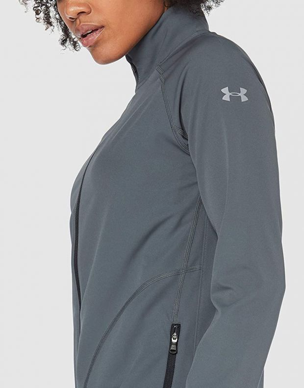 UNDER ARMOUR Storm Launch Graphic Jacket Grey - 1326514-012 - 3