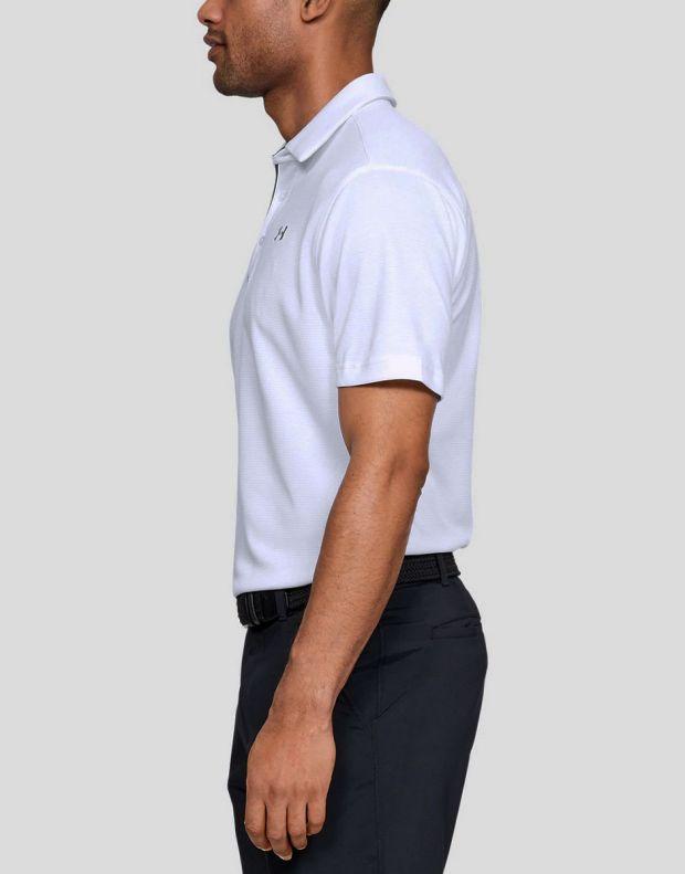 UNDER ARMOUR Tech Polo White - 1290140-100 - 2
