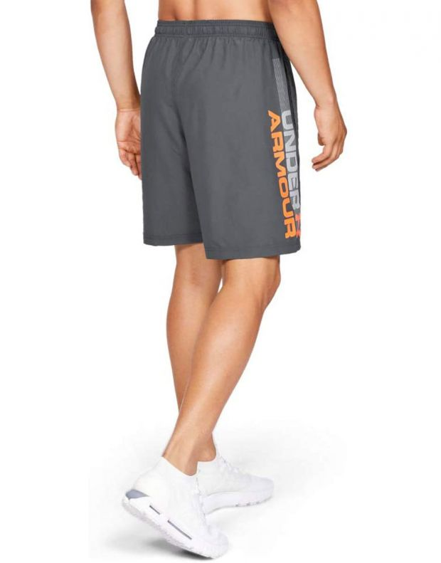 UNDER ARMOUR Woven Graphic Wordmark Shorts Grey - 2