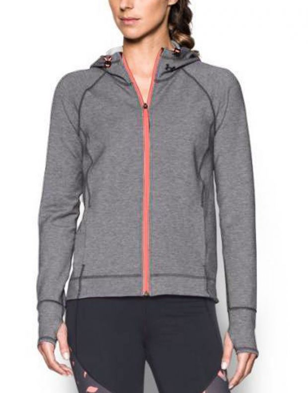 UNDER ARMOUR Luster Hoddie Jacket Grey - 1289343-090 - 1