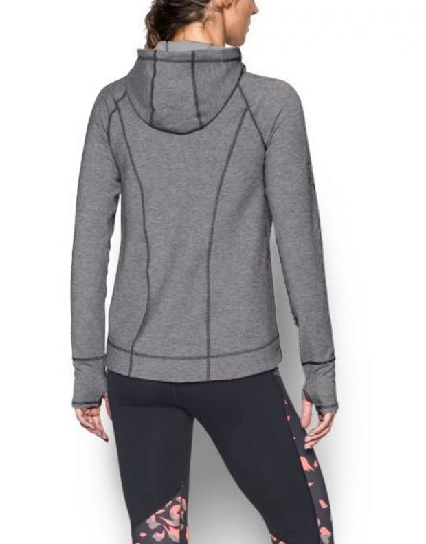 UNDER ARMOUR Luster Hoddie Jacket Grey - 1289343-090 - 3