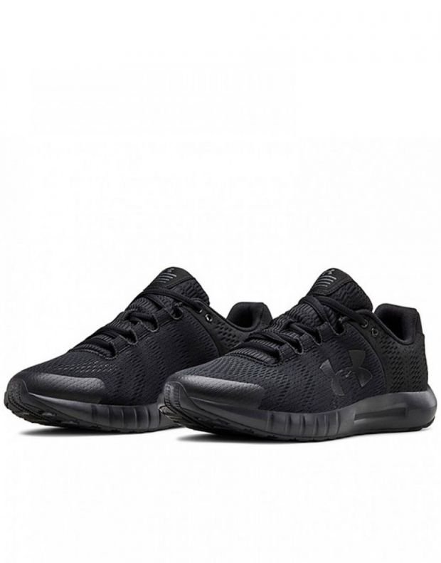 UNDER ARMOUR Micro G Pursuit W All Black - 3021969-001 - 3