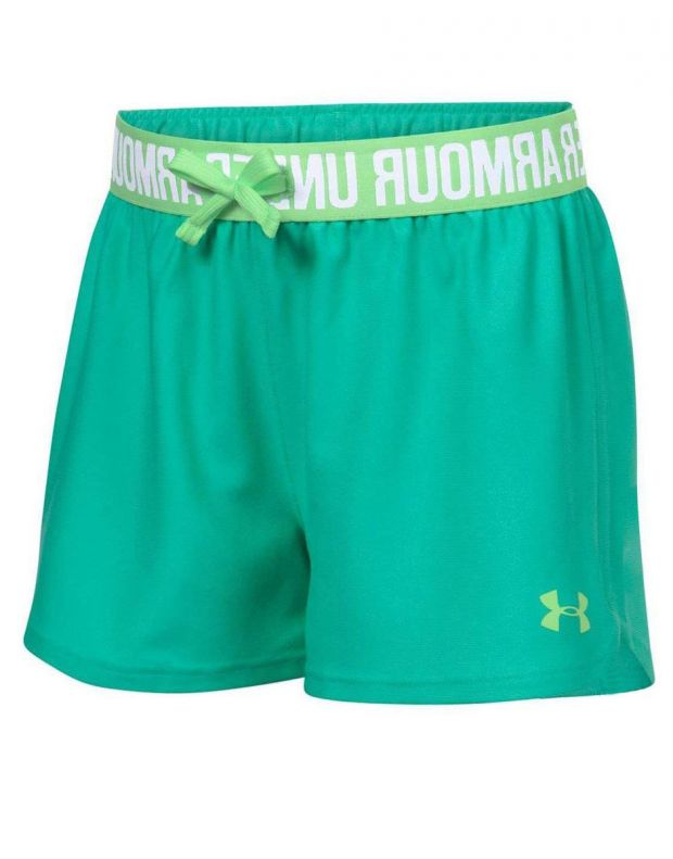 UNDER ARMOUR Play Up Shorts Green - 1