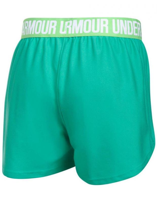 UNDER ARMOUR Play Up Shorts Green - 2