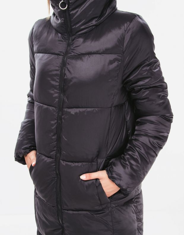 VERO MODA Long Puffer Jacket Black - 3