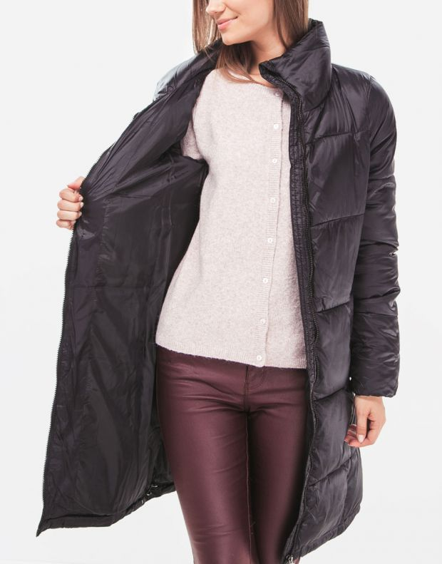 VERO MODA Long Puffer Jacket Black - 4