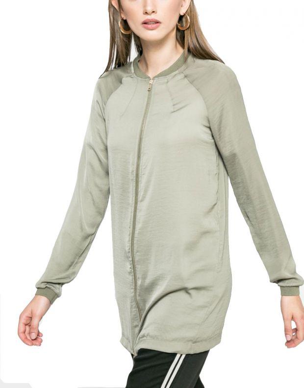 VERO MODA Vimeli Long Cover Up Green - 14042739/green - 1