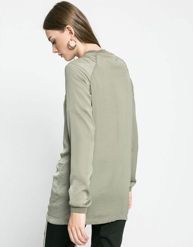 VERO MODA Vimeli Long Cover Up Green - 14042739/green - 3