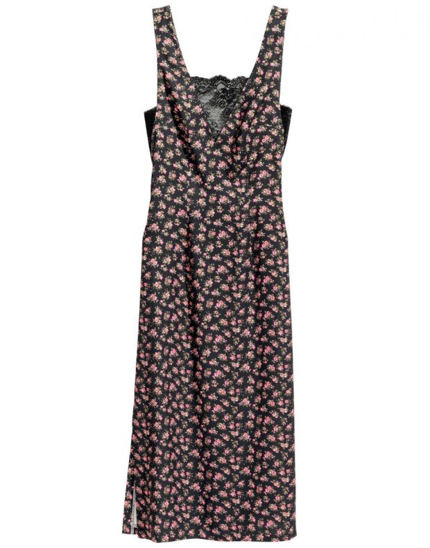 H&M V-Neck Flower Dress - 2