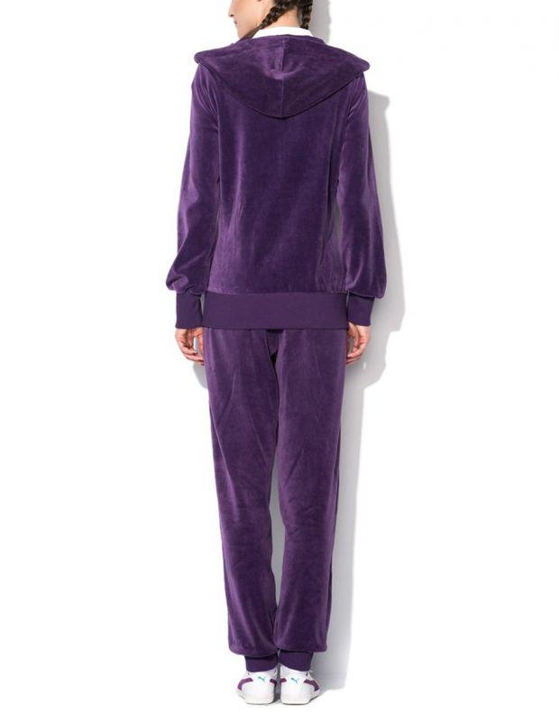 PUMA Velour Tracksuit Purple - 2