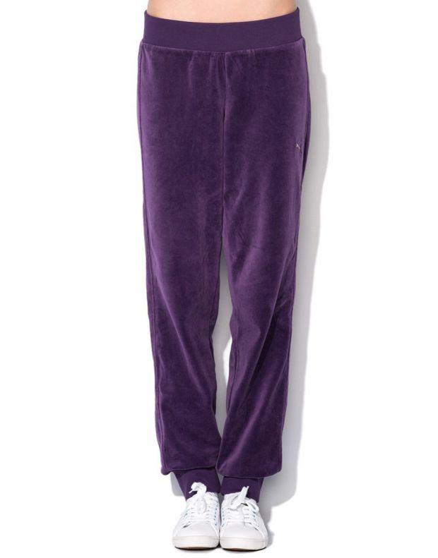 PUMA Velour Tracksuit Purple - 4