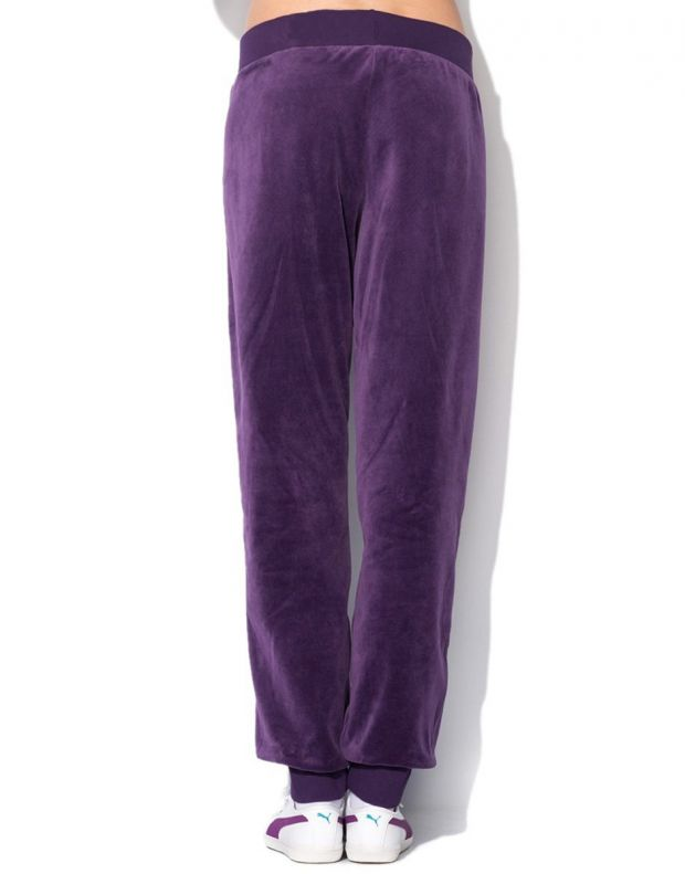 PUMA Velour Tracksuit Purple - 3