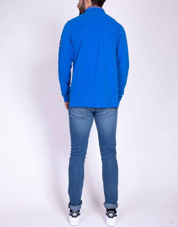 WILD STREAM Primera Blouse Blue - 3