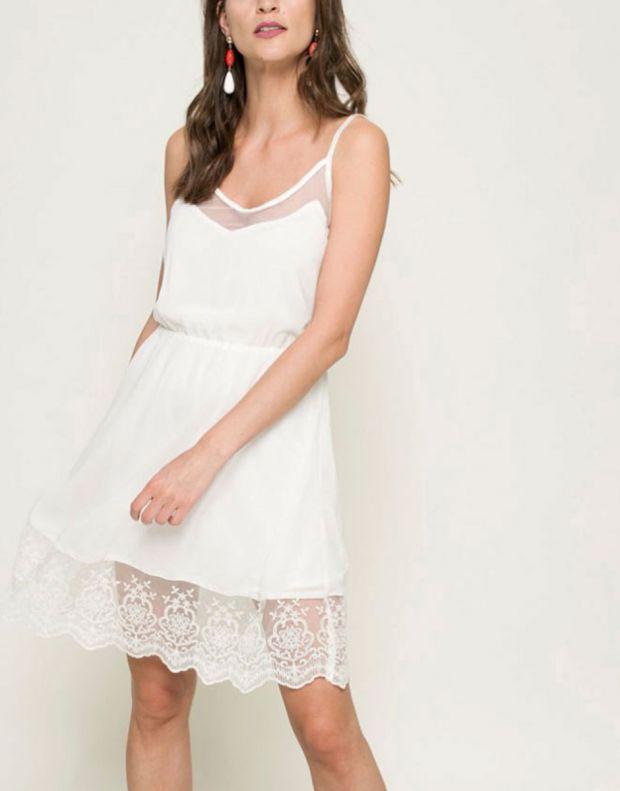 FRESH MADE Sleeveless Dress White - 4