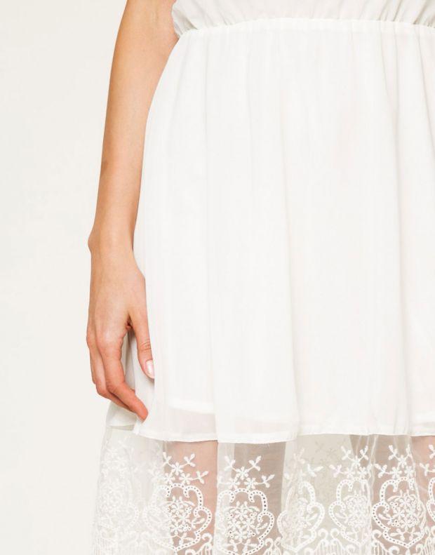 FRESH MADE Sleeveless Dress White - 3