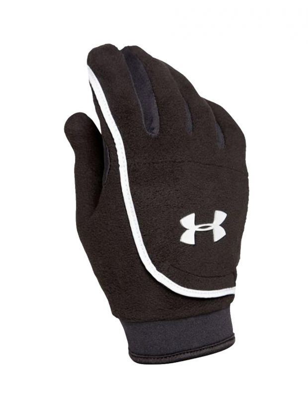 UNDER ARMOUR Youth ColdGear Fleece Gloves - 2