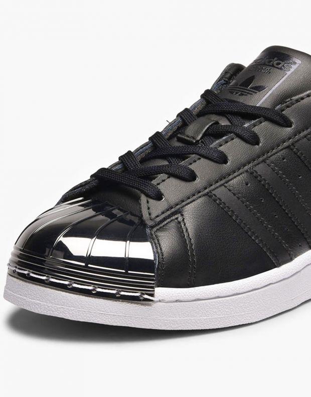 ADIDAS Superstar Metal Toe Black - 6