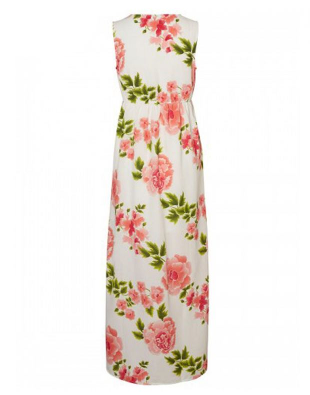 VERO MODA Blomstrete Dress White - 4