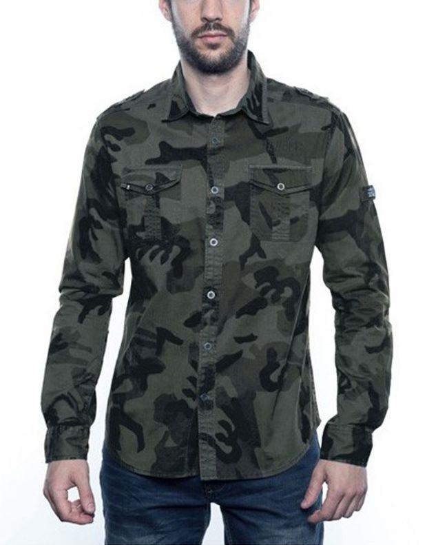 MZGZ Dragster Shirt Kaki - 1