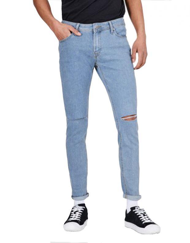 JACK&JONES Liam Original Jeans Light - 12136613/blue - 1